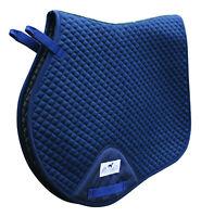 Professional's Choice VenTech Jump English Saddle Pad EP510 Navy