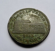 More details for 1813 glanclywedog factory one penny token, (wales)