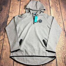 Level Wear Verve Womens XL New York Islanders 1/4 Zip Hoodie Tech Jacket New