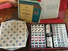 Vintage Mah Jong Set And History Craft Chess Set