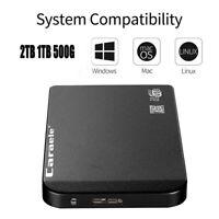 1TB/2TB/500GB 2.5 Inch USB 3.0 SSD HDD External Mobile Hard Drive High Speed