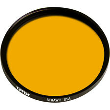 New Tiffen 138mm Straw 3 Solid Color Filter MFR # 138ST3