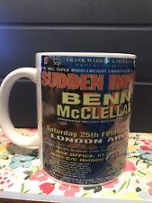 Nigel Benn V Gerald McClellan Poster Coffee Mug, Tea Mug, Boxing Memorabilia