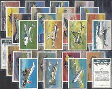 WILLS EMBASSY-FULL SET- WORLD OF SPEED (M36 CARDS) - EXC+++