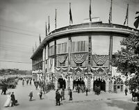 Baseball Forbes Field Photo Pittsburgh Pirates National League Vintage Sports