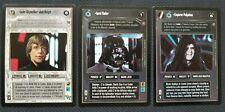 Star Wars CCG Death Star II Set - Luke Skywalker, Jedi Knight, Palpatine, Vader
