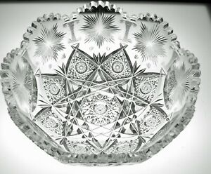 ABP CUT GLASS CRYSTAL IN HAWKES #999 PATTERN