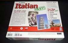 Instant Immersion Italian Fast! Box Set: 8Cds, 2Dvds, Dvd-Rom Software, Workbook