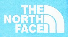 2 THE NORTH FACE stickers decal window laptop car bike skate