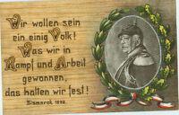 Alte Ansichtskarte Postkarte Feldpost 1. Weltkrieg Bismarck 1915