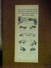 1963 Matchbox Ford Fairlane~Cars~Trucks~Snow Plow Diecast Memorabilia Toy AD
