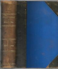 Proceedings of the Grand Lodge  A.F. & A.M. of Alabams. 85th. Annual Com. 1908.