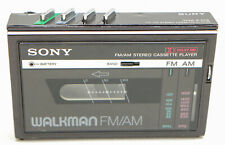 Sony Wm F10 Ii Walkman Cassette Am Fm Stereo Vintage 1984 - For parts only -