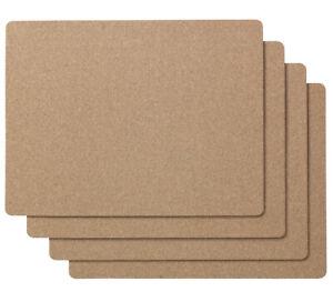 "Brand New, IKEA AVSKILD, Set of 4, Place mat, cork16 ½x12 ½ """