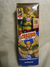 "HAWKMAN ( 12"" )  2017 DC JUSTICE LEAGUE ( POSABLE ) ACTION FIGURE"