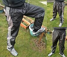 ☆—Adidas Shiny Tracksuit Pants—Bottoms—Cal Surf—Shiny—Silky—Glanz—Nylon—Wind—☆