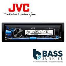 JVC KD-X33MBT Single Din Bluetooth CD MP3 Android USB Mechless Car Stereo