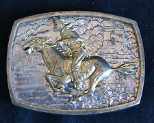Pony Express - Cowboy -  Numbered - Belt Buckle - EX