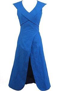 Game of Thrones Daenerys Targaryen Linen Blue Dress Halloween Cosplay Costume