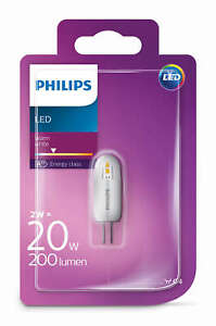 Philips LED 2W - 20W G4 Capsule Light Bulb A++ 200lm 12v Warm White 2700K