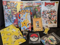 Pokemon Themed Subscription Mystery Crate Box Comic Books CrateJoy Handmade