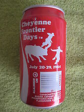 1984   COKE   CHEYENNE  FRONTIER  DAYS      CAN    COCA COLA     B.O.