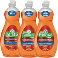 LOT (3) PALMOLIVE ANTIBAC DISH SOAP Liquid / Hand Wash 20oz Bottles Kills Germs!