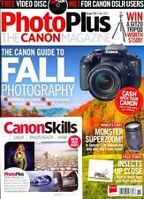 PhotoPlus The Canon Magazine Issue 132 November 2017 + CannonSkills Video Disc