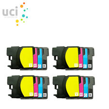16 Ink Cartridge For Brother LC985 DCP-J125 DCP-J140W DCP-J315W DCP-J515W