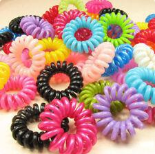 6 Pcs Girl Candy Women Hair accessories Elastic Hair Bands Rubber Hair Band