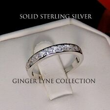 Woman's Victoria Sterling Silver Anniversary/Wedding Ring or Engagement - GLC
