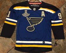 St Louis Blues Vladimir Tarasenko Men's Size Small Jersey 2019 Stanley Cup Patch