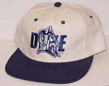 Vintage 90 s DUKE BLUE DEVILS NEW ERA SnapBack HAT Cap NWOT NEW Old Stock 64d2ea56fe72