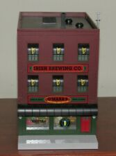 O scale Mth O'Mara'S Brew Pub with Neon Light for Model Train Layouts & Display