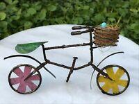Buy 3 Save $5 Miniature Dollhouse Fairy Garden Milk Bottles in Basket