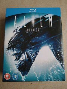 Alien Anthology Collection Blu-Ray (4 Discs) (1, Die Rückkehr, 3, Wiedergeburt)