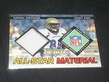 DANIEL GRAHAM TOPPS ROOKIE GAME USED GENUINE CERTIFIED AUTHENTIC JERSEY CARD