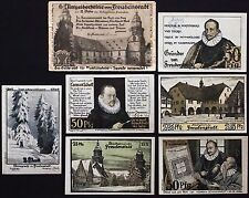 "FREUDENSTADT 1921 ""Founders"" RARE w/ENVELOPE Artists/Painters Germany Notgeld"