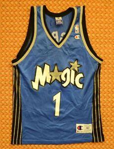 Orlando Magic, vintage NBA shirt by Champion, Small - Medium, 40, #1 McGrady