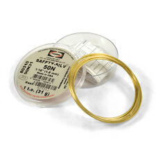 Harris Safety-Silv 50N 1/16 Silver Solder Brazing Alloy 1 Troy Ounce, 50N31