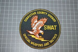 Sebastian County Arkansas Sheriff SWAT Patch (B17-9)
