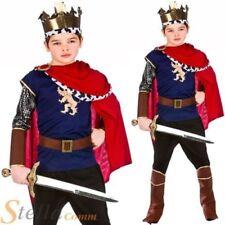 garçons médiéval de luxe Costume Roi Arthur Chevalier Enfant Costume déguisement