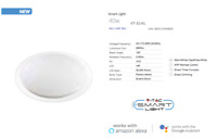LED Smart Dimmable Ceiling Dome Light Supports Alexa/Google & 3in1 Colour Change