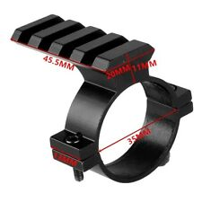 Tactial 35mm Scope Ring Barrel Flashlight Mount Adapter with 20mm weaver