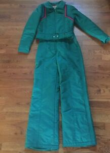 Vintage Women's CEVAS Ski Bib And Jacket ~80's 90's~Size 12 But More Like 8/10!