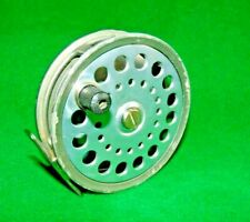 "C.FARLOW & Co BWP PATENT CONTRACTED SALMON FLY REEL , 4 1/8"" DIAMETER"