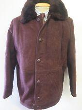 """De colección chaqueta de piel de cordero cuero M 38-40"""" euro 48-50"""