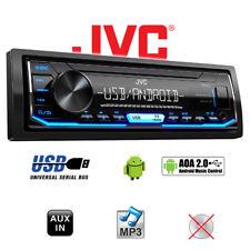 JVC KD-X151 1DIN MP3/USB/Android/blau/AUX 4x50 Watt Auto KFZ Radio PKW Autoradio