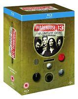 Warehouse 13: The Complete Series Seasons 1-5 (Blu-ray, 15-Disc Box Set) *NEW*