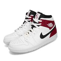 Nike Air Jordan 1 Mid Chicago Remix White Black Red AJ1 Shoe Sneakers 554724-116